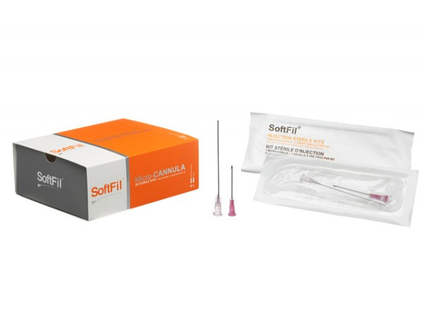 SoftFil® Precision 23G/50mm x20 canules