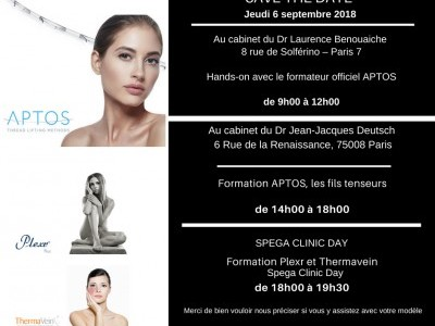 Spega Clinic Day : Plexr - Thermavein 6 septembre