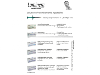 Brochures Luminera