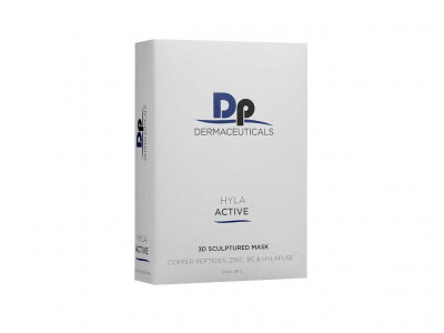 Dermapen Dermaceuticals Hyla Active 3D Sculptured Mask - Boite de 5