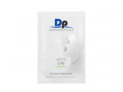 Dp Dermaceuticals Brite Lite 3D Sculptured Mask boite de 5