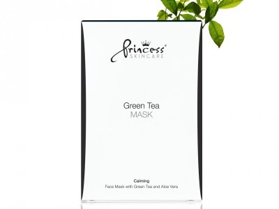 Princess Skincare Green tea mask x8